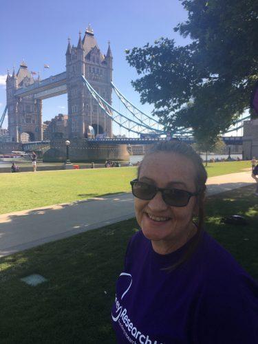 Diane Gough, at the London Bridges Walk