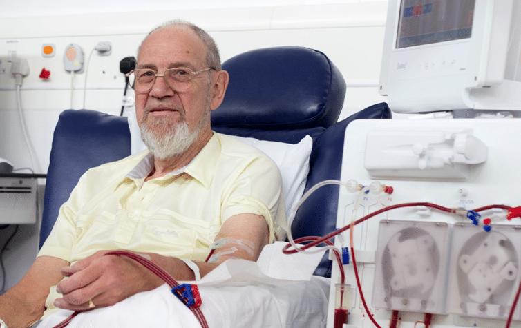 Derek King a Pivotal trial patient
