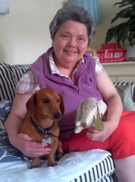 Ruth Moorehead, kidney transplant recipient