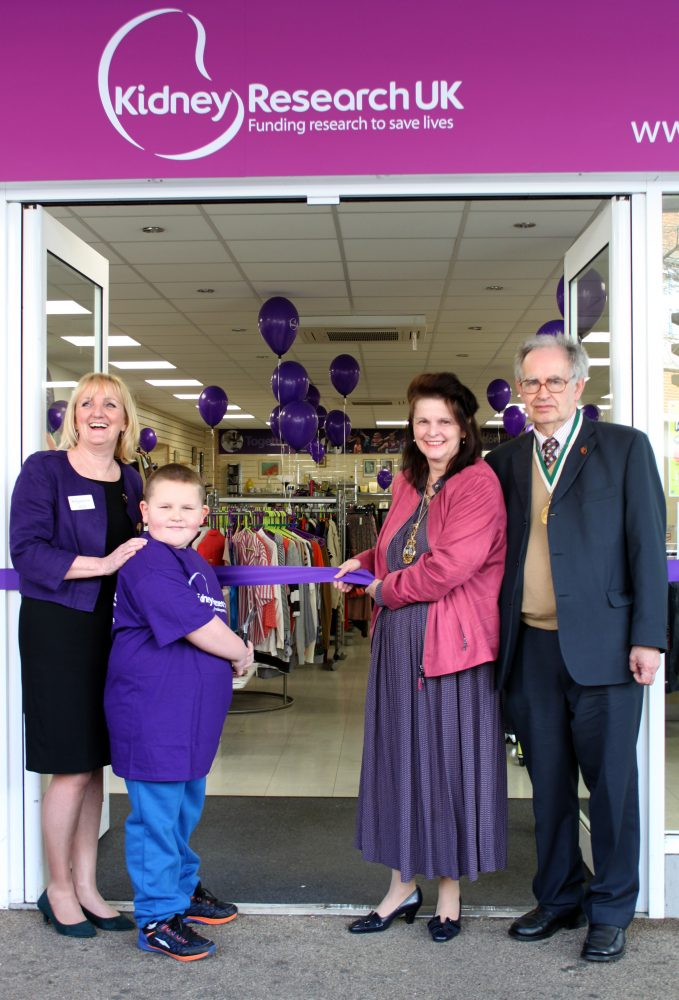 Exeter charity shop opening