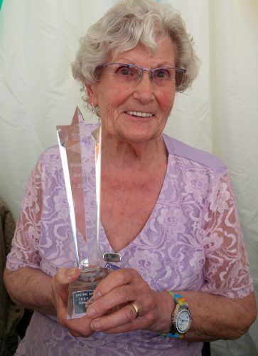 Jean Wilson, Lifetime Achievement Award winner July 2017