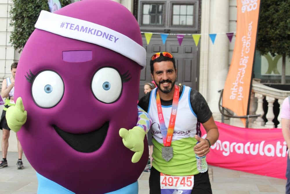 London Marathon Team Kidney