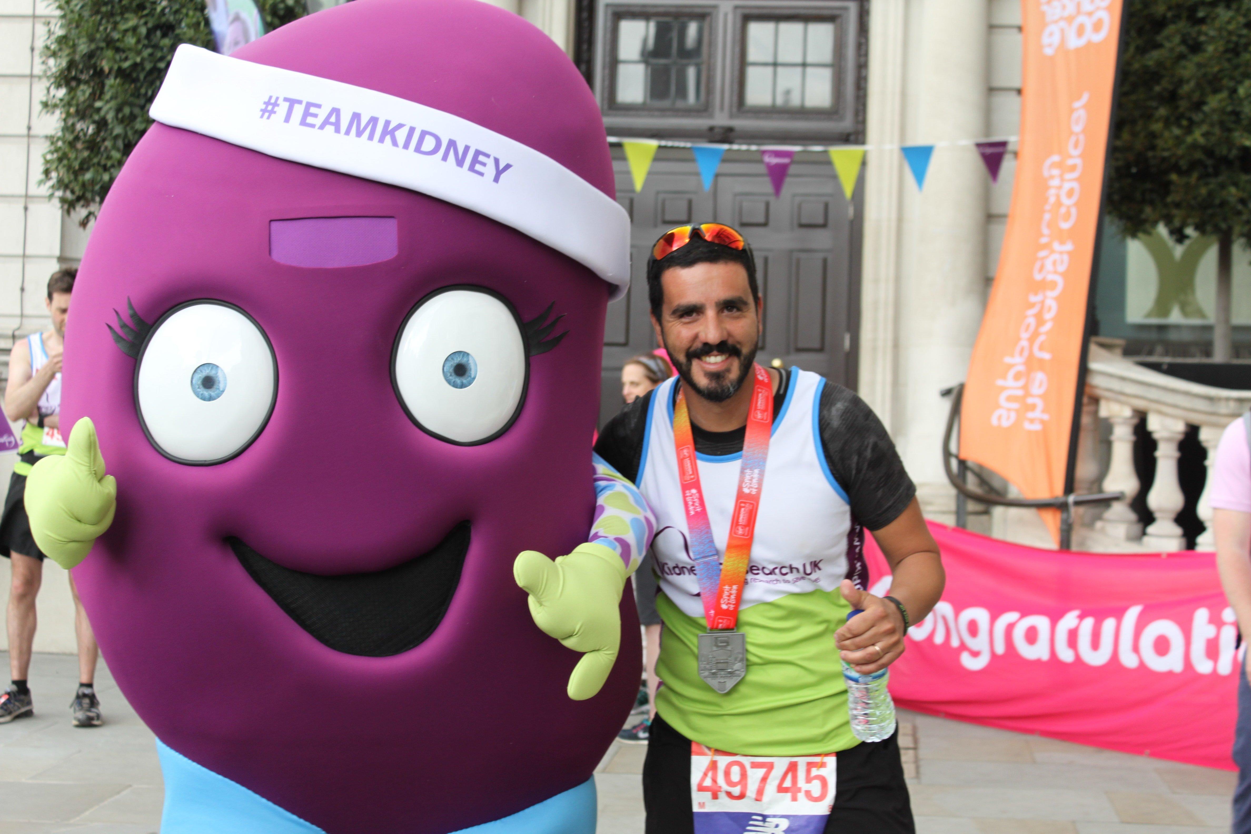 London Marathon Team Kidney
