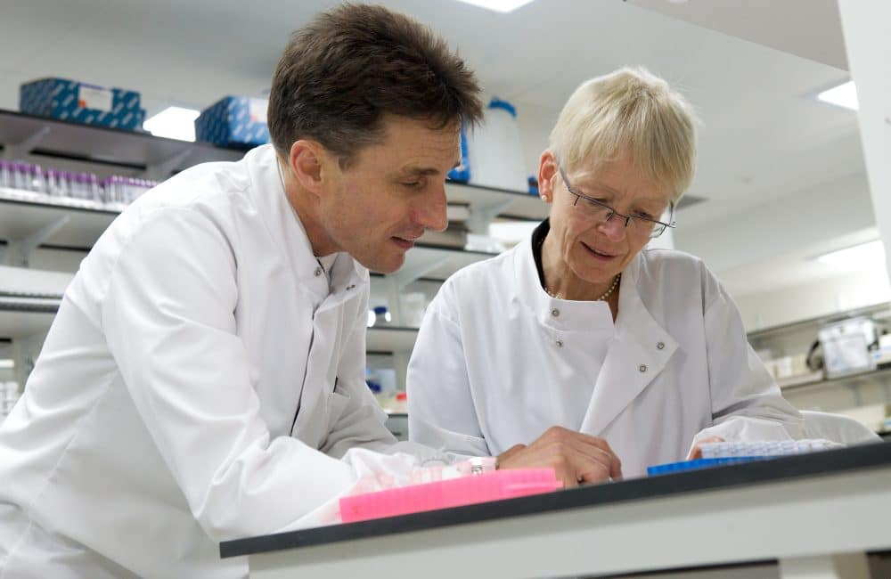 Dr David Wheeler and Dr Jill Norman