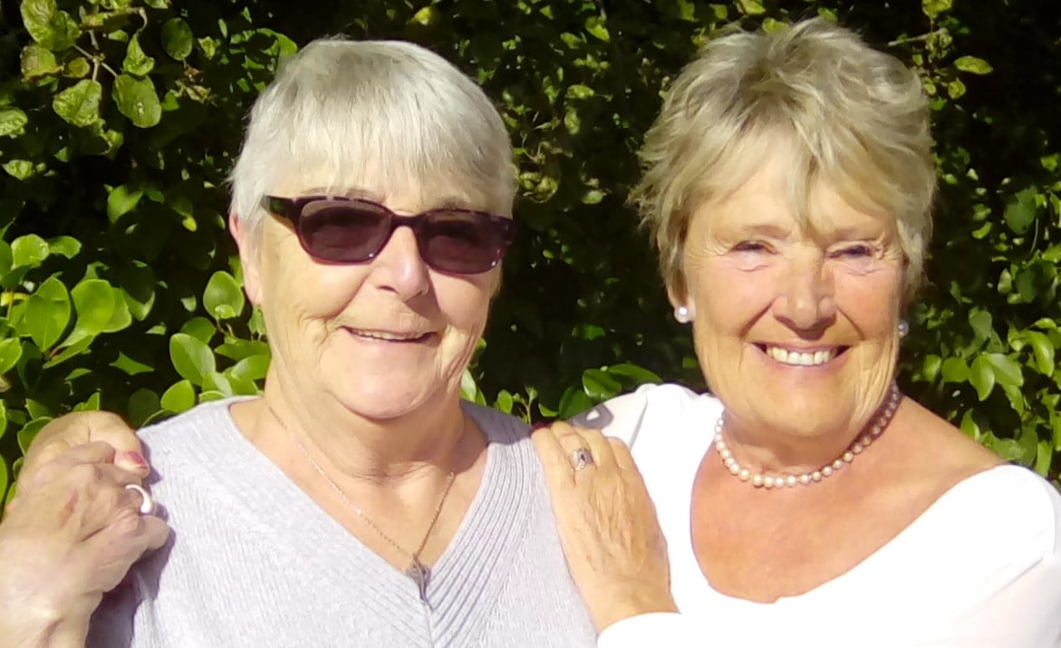 Christine Ashton and Barbara Hodgson