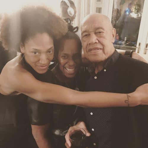 Desmond Jones and family