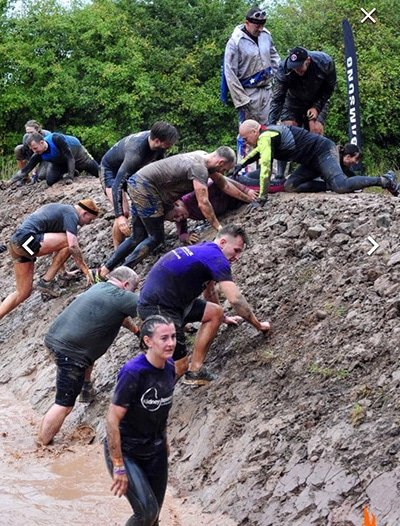 The Opus team taking on Tough Mudder for Kidney Research UK