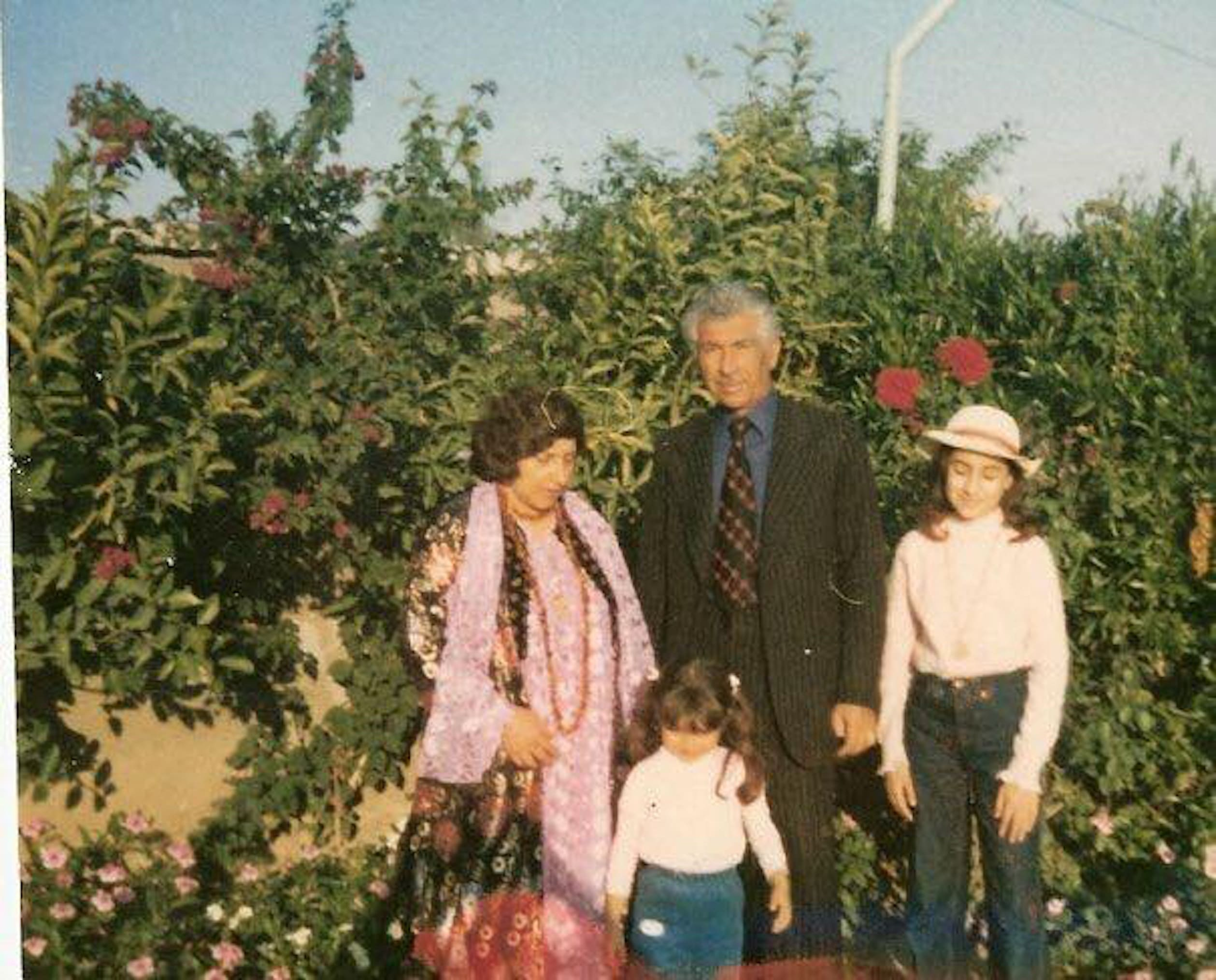 Dr Soma Meran and family