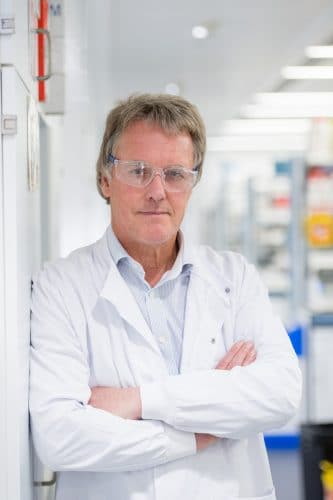 Sir Peter Ratcliffe Oxford. Courtesy of Ludwig Cancer Research.