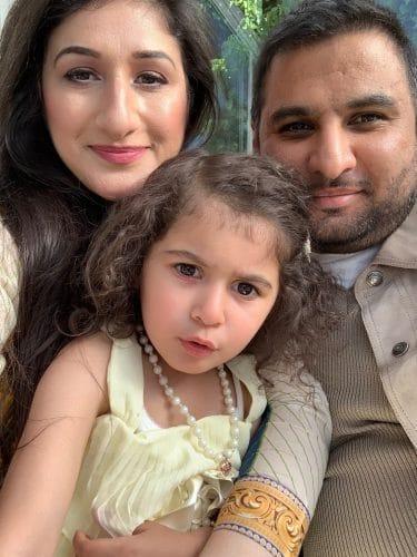 Farhan Narwaz and family