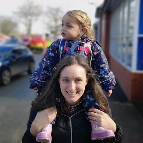 Rosie Butler and her mum Hannah