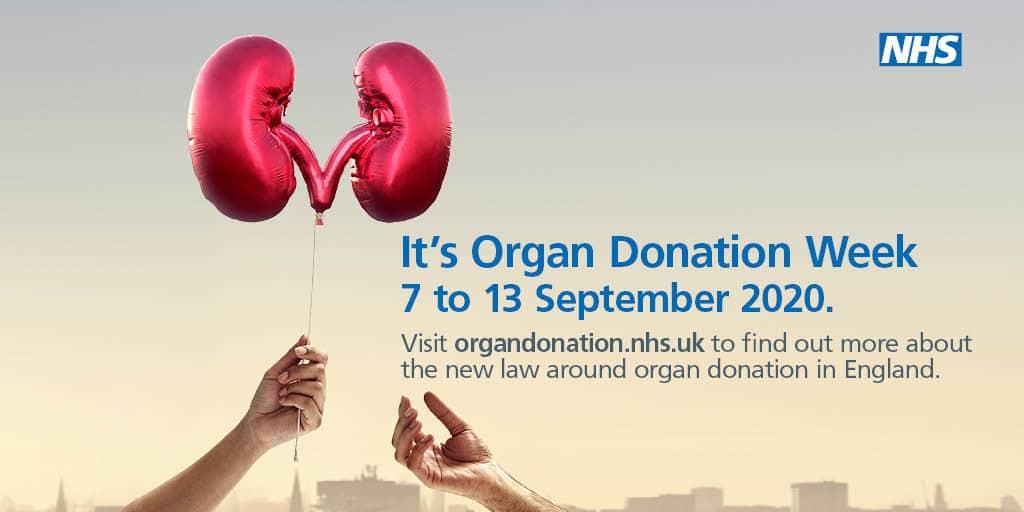 Organ donation week 2020