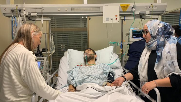 Mark Zoel in recovery