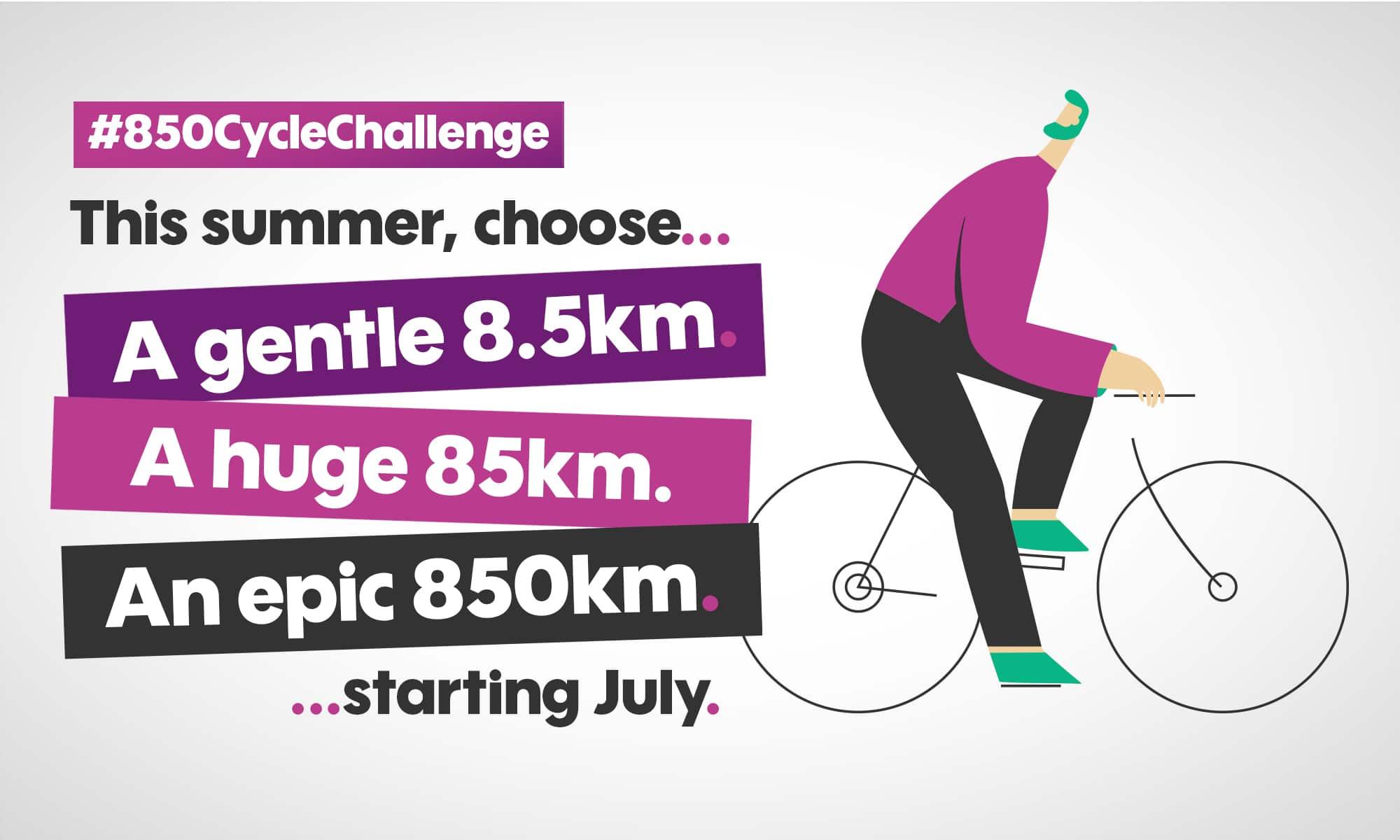 850 Cycle Challenge