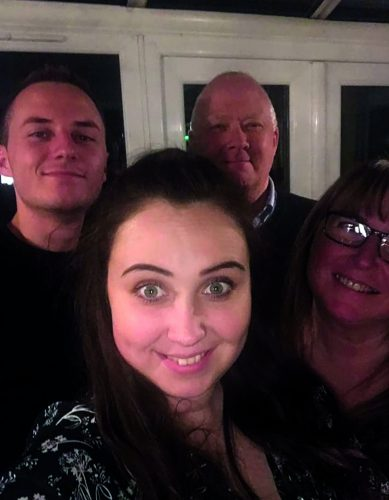 Paul with his family