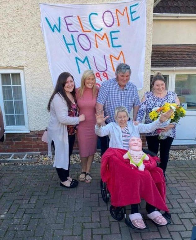 Alison Bennett and family