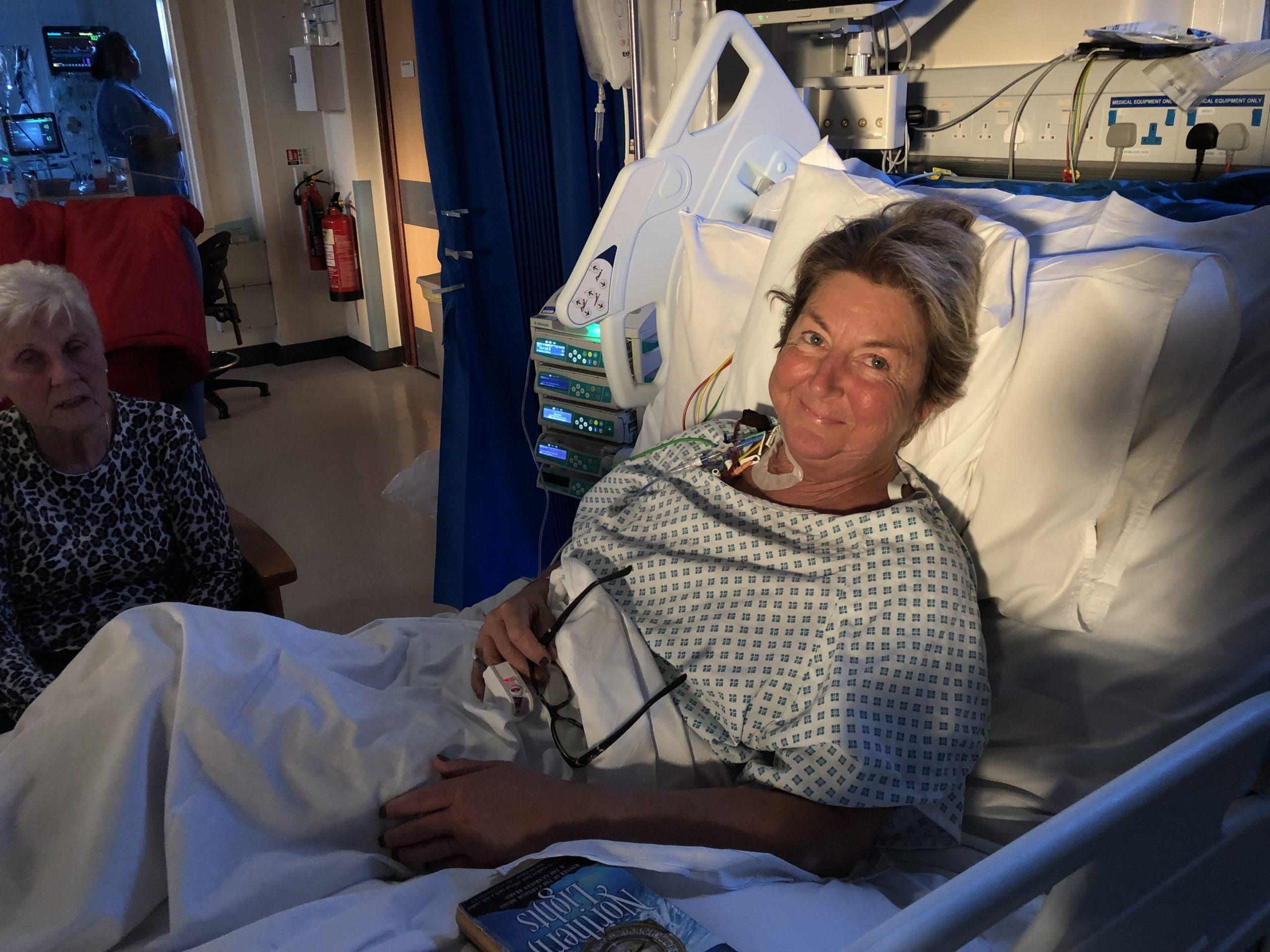 Janice Richardson post last transplant