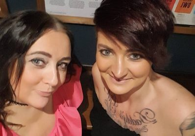 Paula Carberry and Kirsty Vaughan