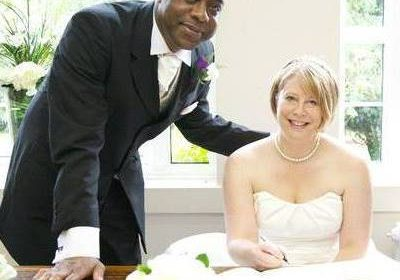 Eric Douglin with wife, Mandi
