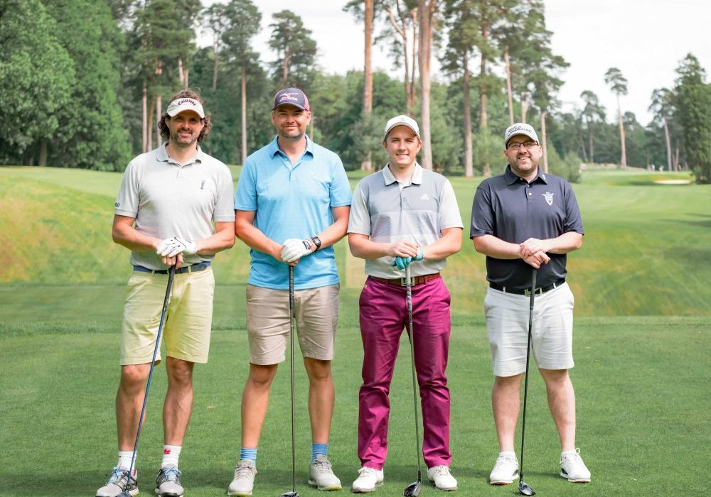 Golf day at Woburn Golf Course