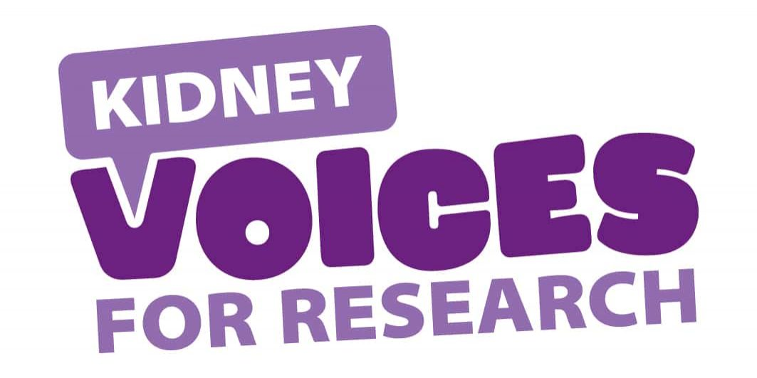 Kidney voices for research logo