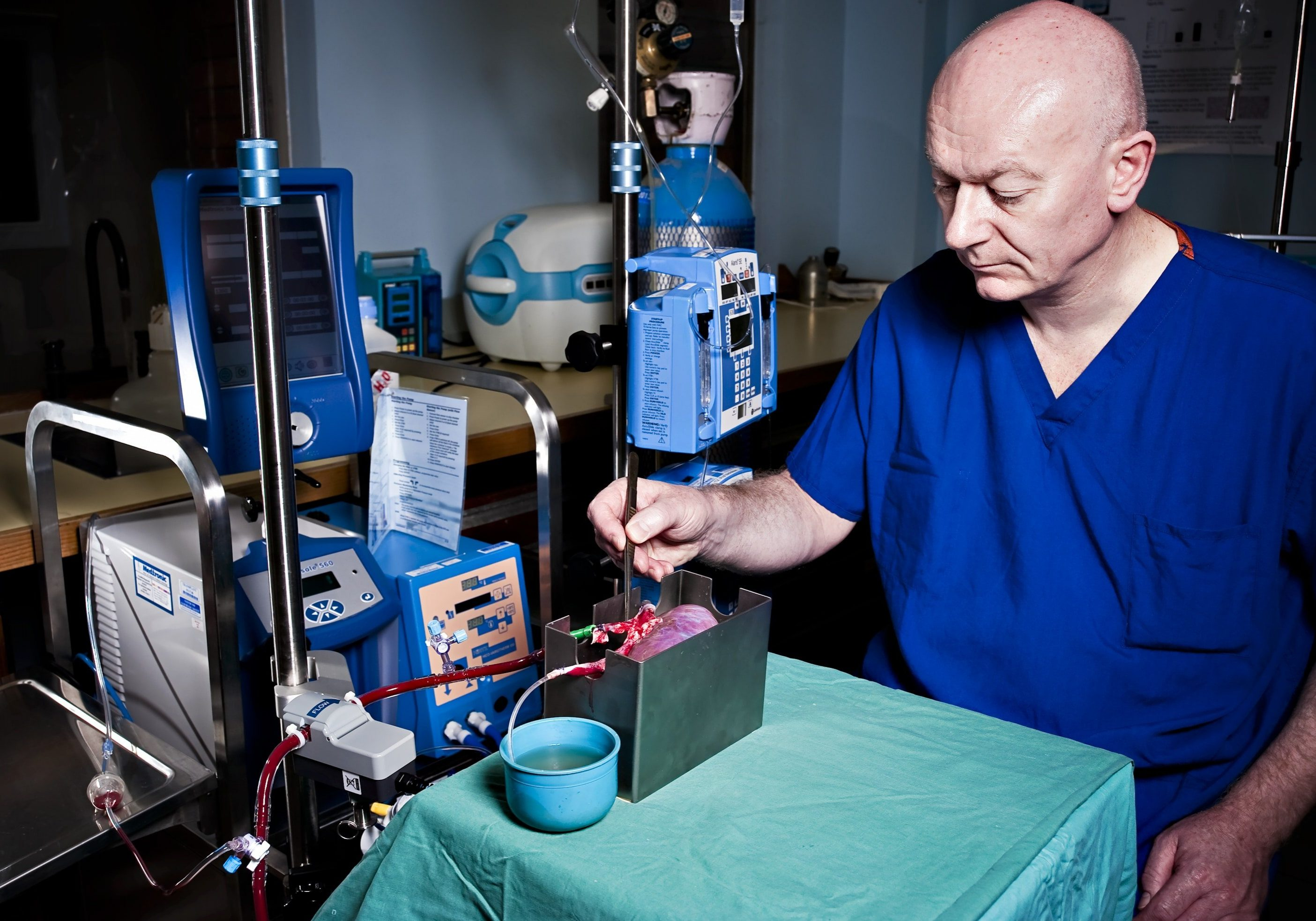 Mike Nicholson, Normothermic Perfusion