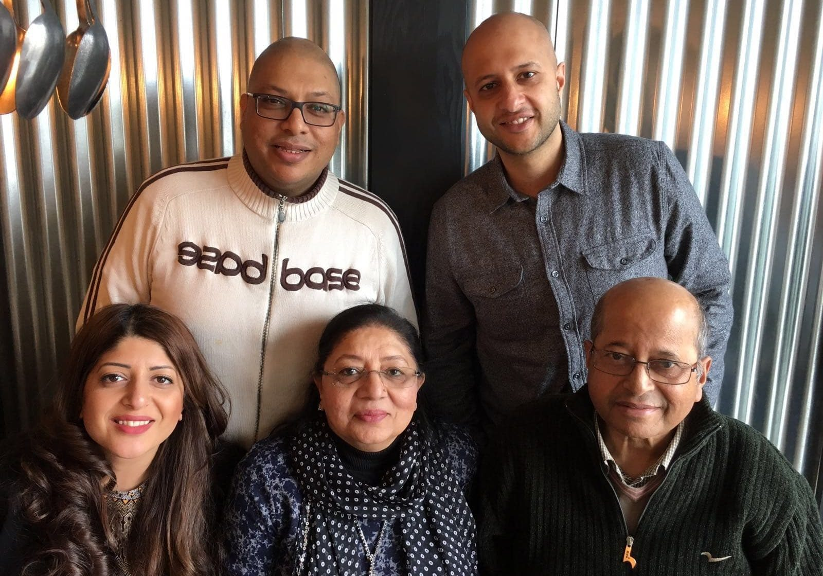 Chauhan family picture
