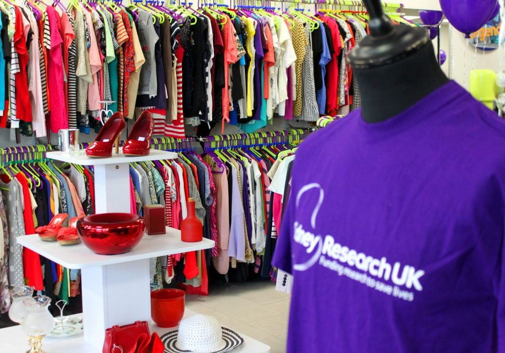 Kidney Research Uk charity shop